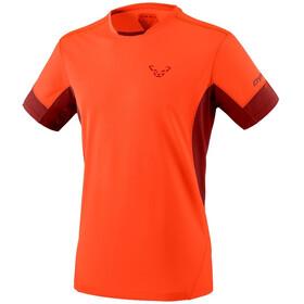 Dynafit Vert 2 Maglietta a maniche corte Uomo, arancione/rosso